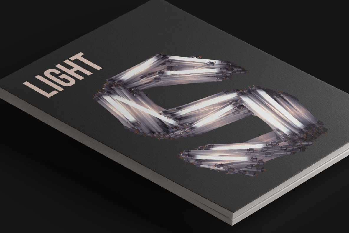 Fluorescent Lamp Font