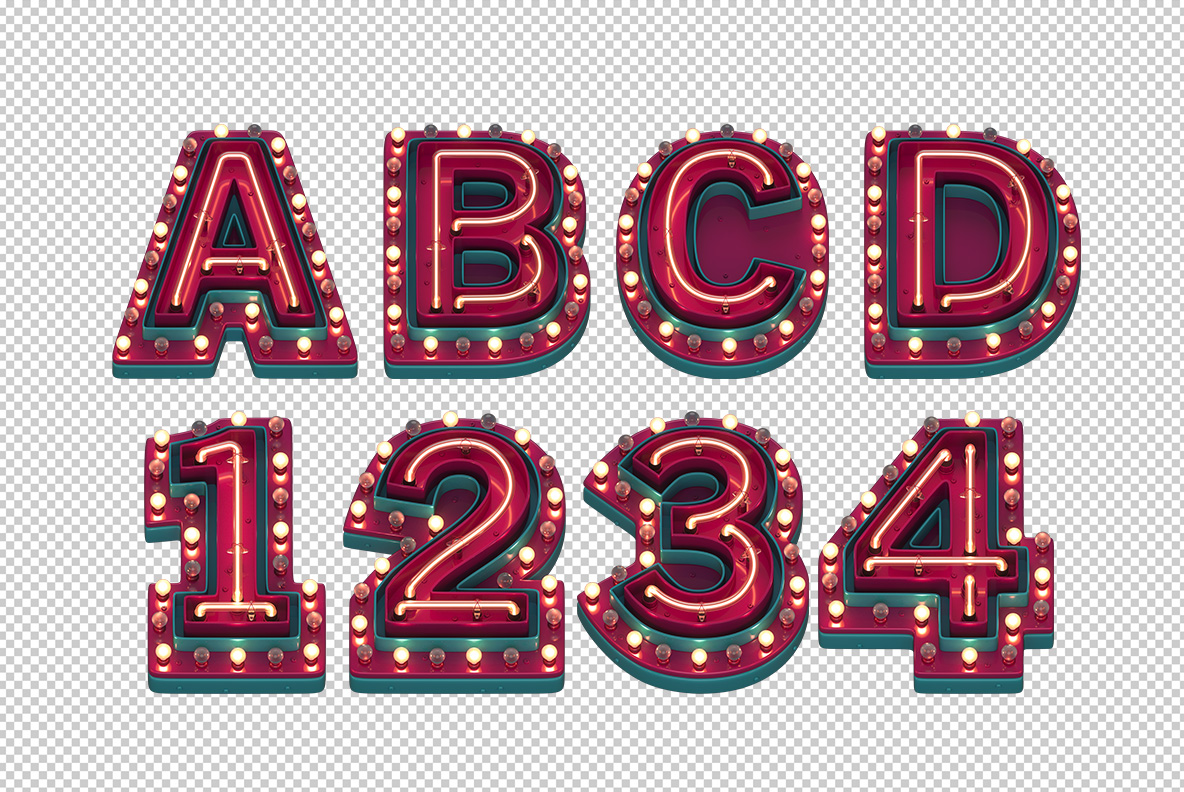 Red Performance Font